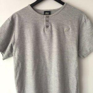 Publish Basic T Shirt Minimal Modern Tee Gray